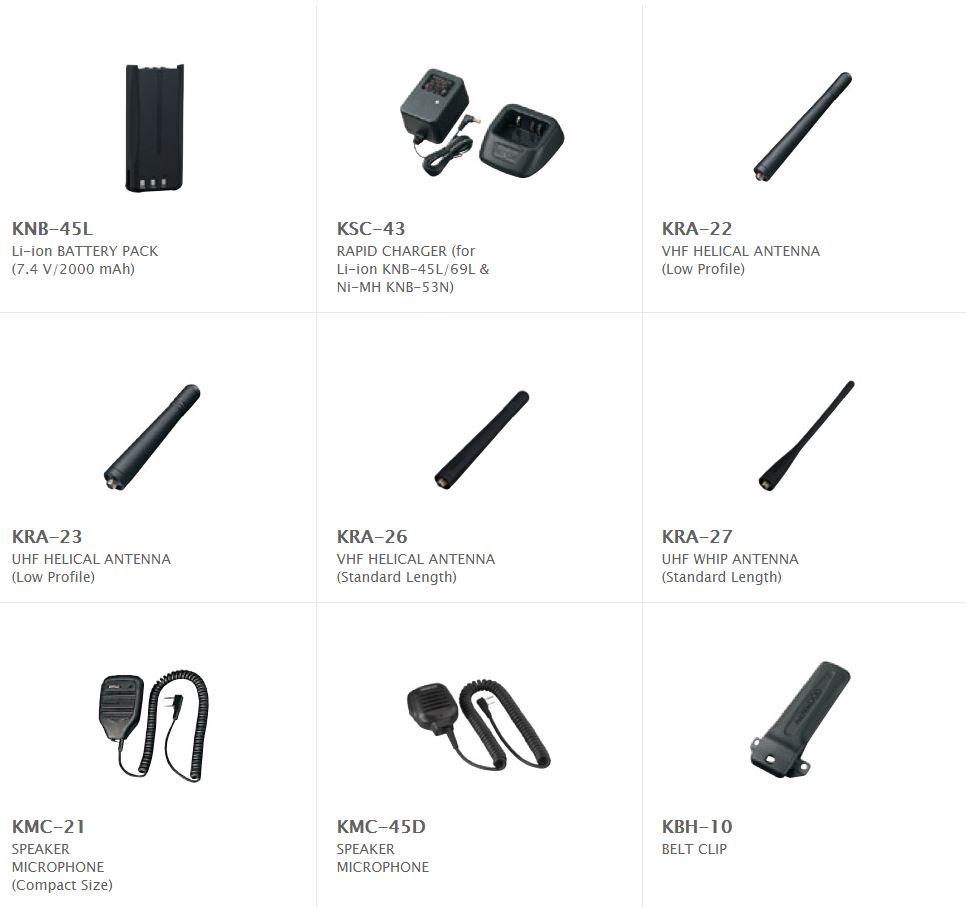 Kenwood NX240m Accessories