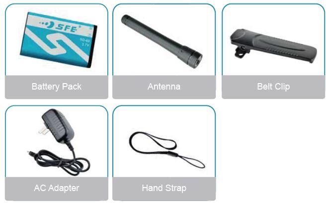 SFE S618 accessories